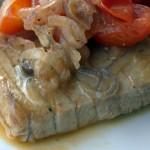 Стейк из тунца по-сицилийски