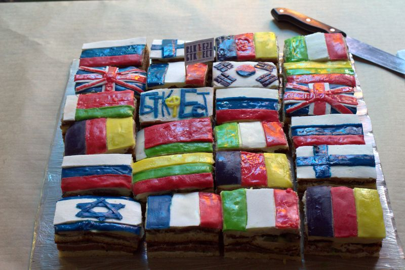 international cakes