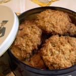 Овсяное печенье с семечками и кокосовой стружкой