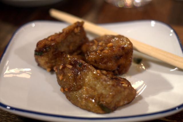 Баклажаны в устричном соусе