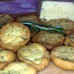Печенье с рикоттой и розмарином